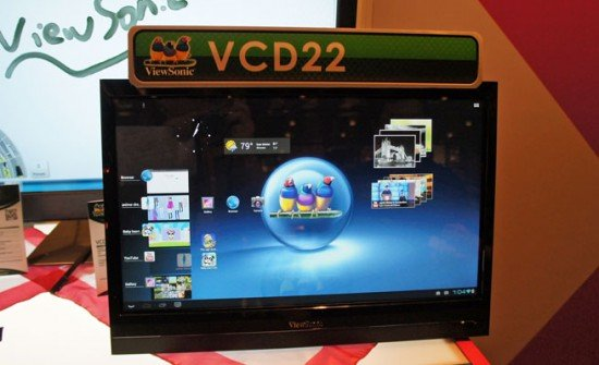 ViewSonic VCD22 Smart Display 22