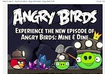 """Y aún más por debajo de la tierra - Nuevo nivel de Angry Birds """"Mine & Dine"""""""