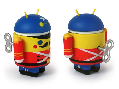 Android toy soldier