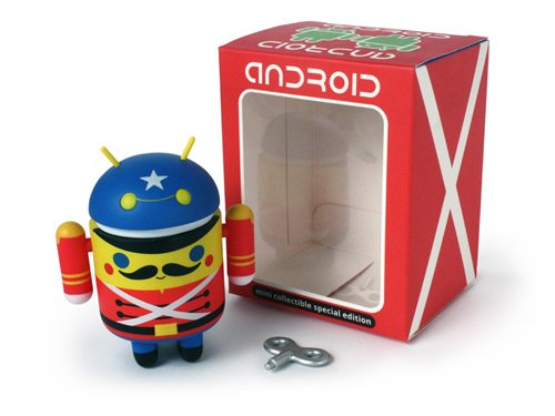android toy soldier muneco