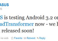 Asus está trabajando en una actualización a Android 3.2 para el Eee Pad Transformer