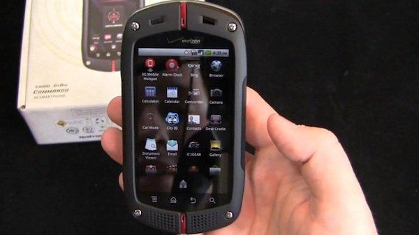 smartphone de Casio