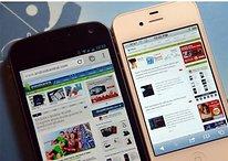 Google Chrome (bêta) vs Safari iOS 5: quel est le meilleur navigateur?