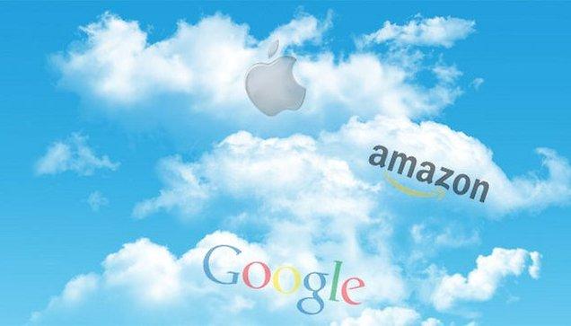 """Los servicios de la """"nube"""" - Handy Chart compara Google, Amazon y Apple"""