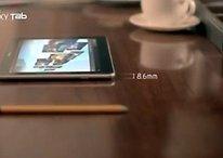 """[Vídeo] El Samsung Galaxy Tab 10.1 es tan fino… es """"unbelievable"""""""
