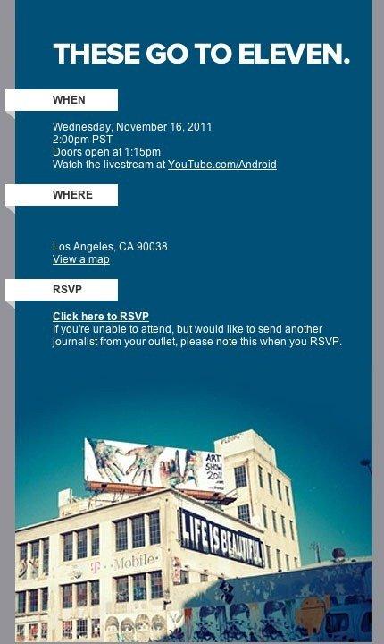 Evento de Google Music en directo