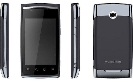 Highscreen Cosmo Duo telefono con dos tarjetas SIM