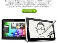 Concurso para ganar un HTC Flyer