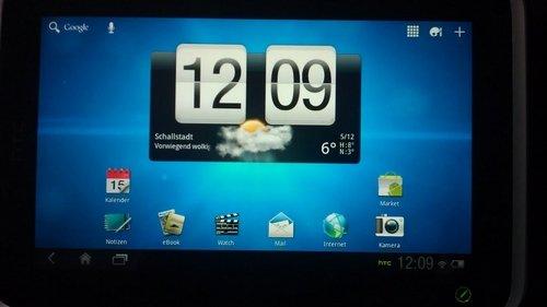 HTC Flyer Honeycomb