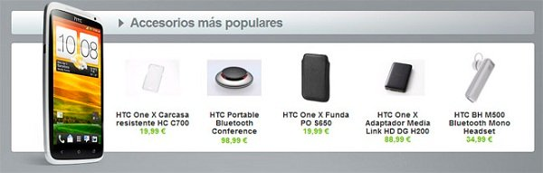 htc one accesorios