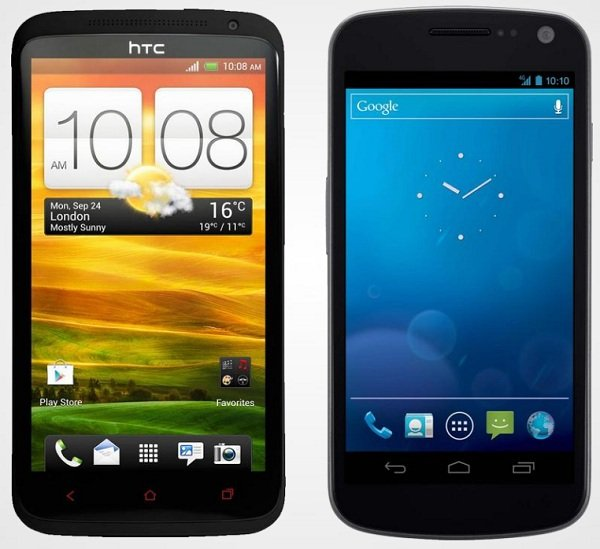 htc one x plus galaxy nexus