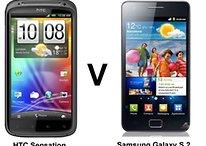 [CNET] Comparación entre Samsung Galaxy S2 y HTC Sensation - ¿cuál es mejor?