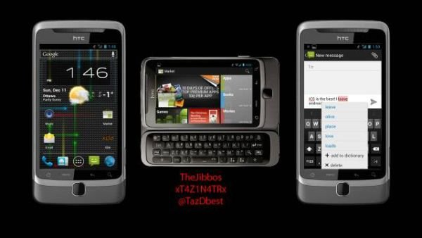 HTC Desire Z Android 4.0 Custom ROM