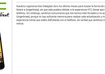 Ya es oficial: no habrá Gingernread para los HTC Desire