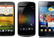 HTC One X vs Samsung Galaxy S2 vs Samsung Galaxy Nexus