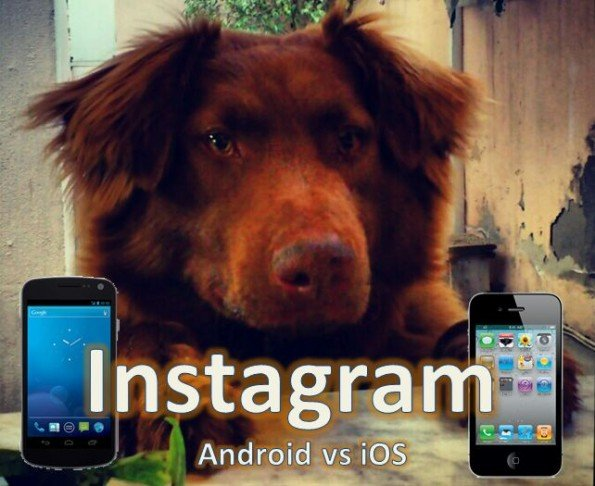 Instagram Android vs iOS