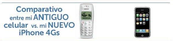 comparacion iphone 4s