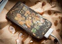 ¡Apple, mira lo que hago con tus dispositivos! Me los como con patatas