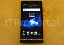 [Fotos] Sony Ericsson Nozomi Xperia HD