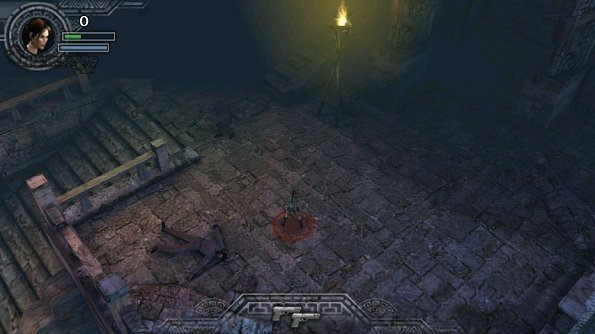 Lara Croft Android juego