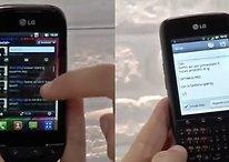 """[Vídeos] Un resumen de los nuevos smartphones de LG """"Low Cost"""": LG Optimus Pro y Optimus Net"""