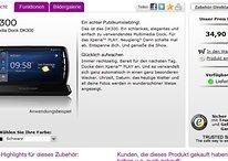 Sony Ericsson - Soporte multimedia DK300 Dock para el Xperia Play