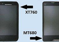 Los tres teléfonos desconocidos de Motorola: MT680, XT760 y otro RAZR