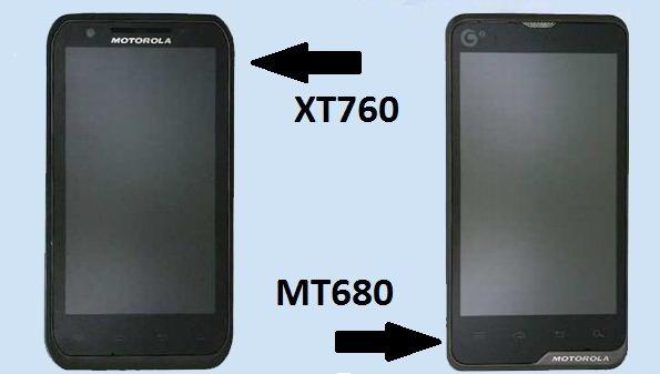 Motorola MT680  XT760