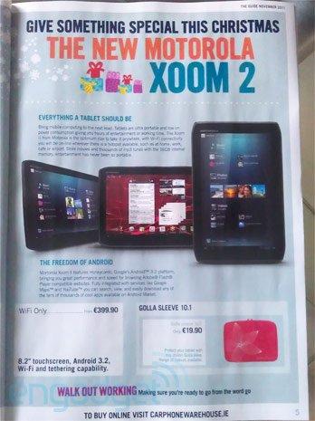 Motorola XOOM 2 Android
