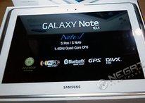 Samsung Galaxy Note 10.1 ya disponible para reservar