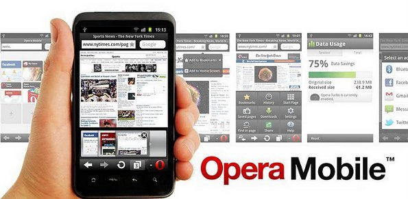 Opera android mobile