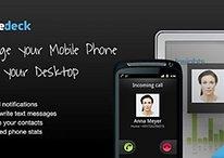 Phonedeck para Android - Tu móvil desde tu ordenador