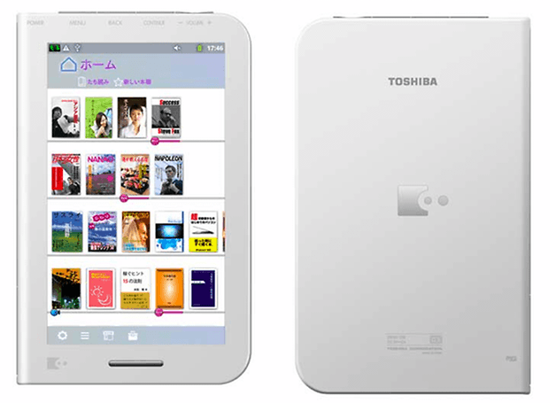 BookPlace DB50 Toshiba Android