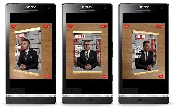 revista hola aplicacion android 3d