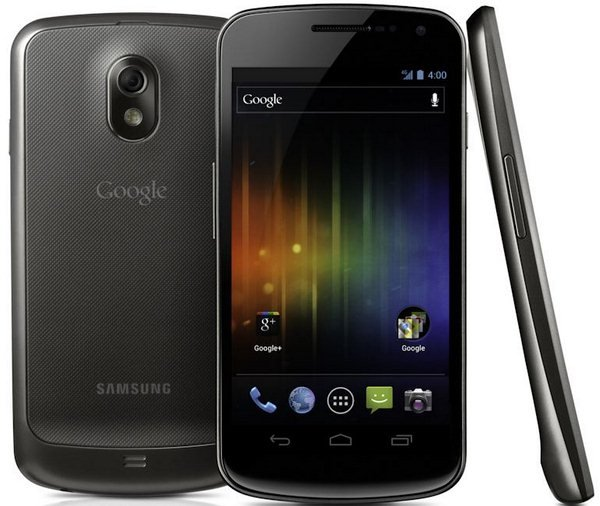 Galaxy Nexus con Android Ice Cream Sandwich