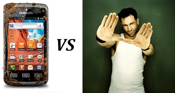 Evil jared vs Samsung Galaxy Xcover