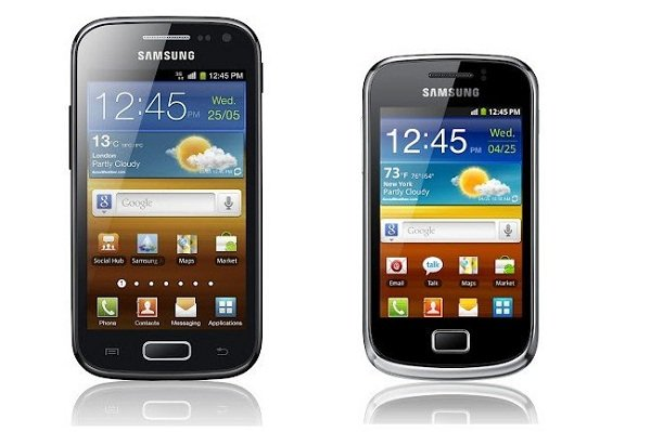 Samsung Galaxy Ace 2 y Galaxy Mini 2