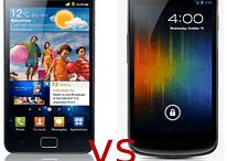 Samsung Galaxy S2 vs Galaxy Nexus: comparación
