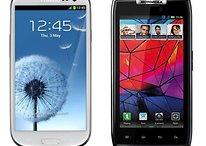 Samsung Galaxy S3 vs Motorola RAZR HD