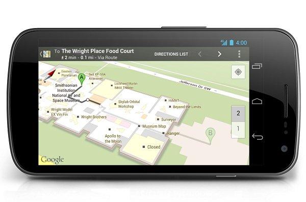 google maps museos