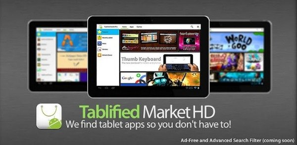 Tablified android play google tablet aplicaciones