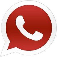 Whatsapp rojo logo