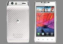 ¿Motorola Droid RAZR en blanco?