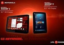 Los nuevos tablets de Motorola XOOM 2 en movimiento (Vídeos)