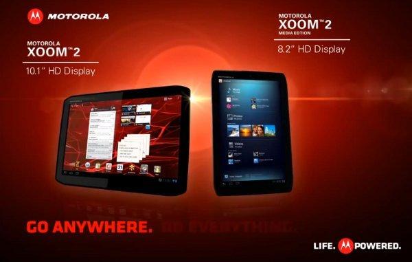 Motorola tablets XOOM 2