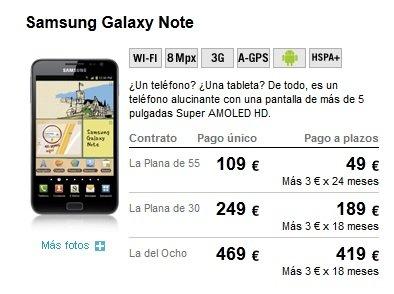 portabilidad yoigo galaxy note