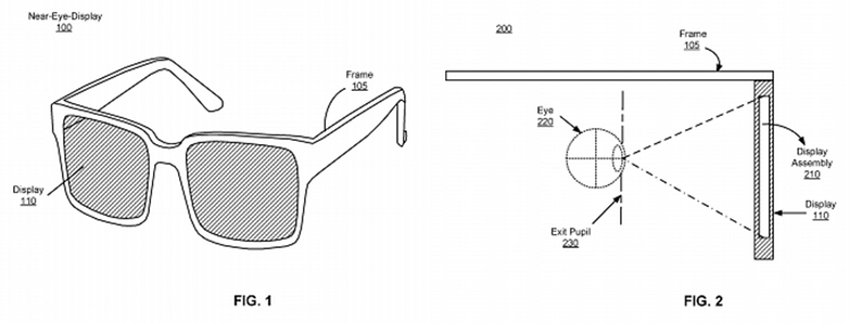 Facebook AR Glasses Patent