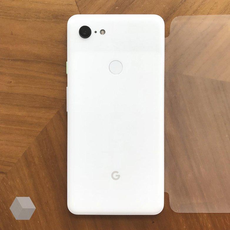 Google Pixel 3 XL trasera blanca 1