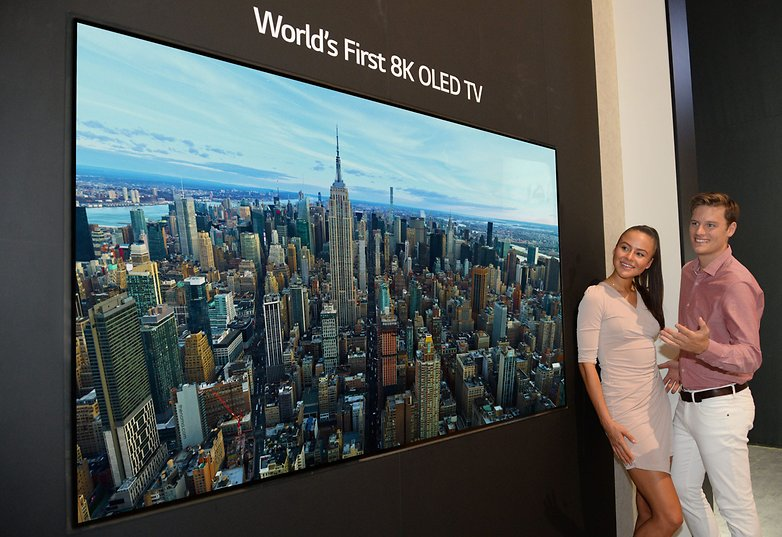 LGE 8K OLED TV