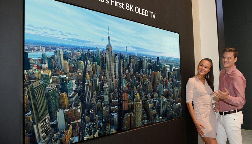 LG asombra con su pantalla 8K OLED ¿Demasiado pronto?